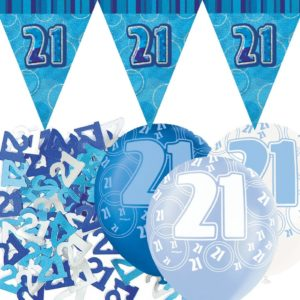 Glitz Blue Party Products