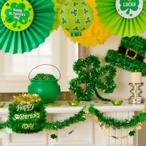 St Patrick's Day Deocrations
